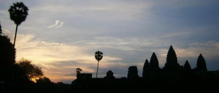 Sunrise at Angkor