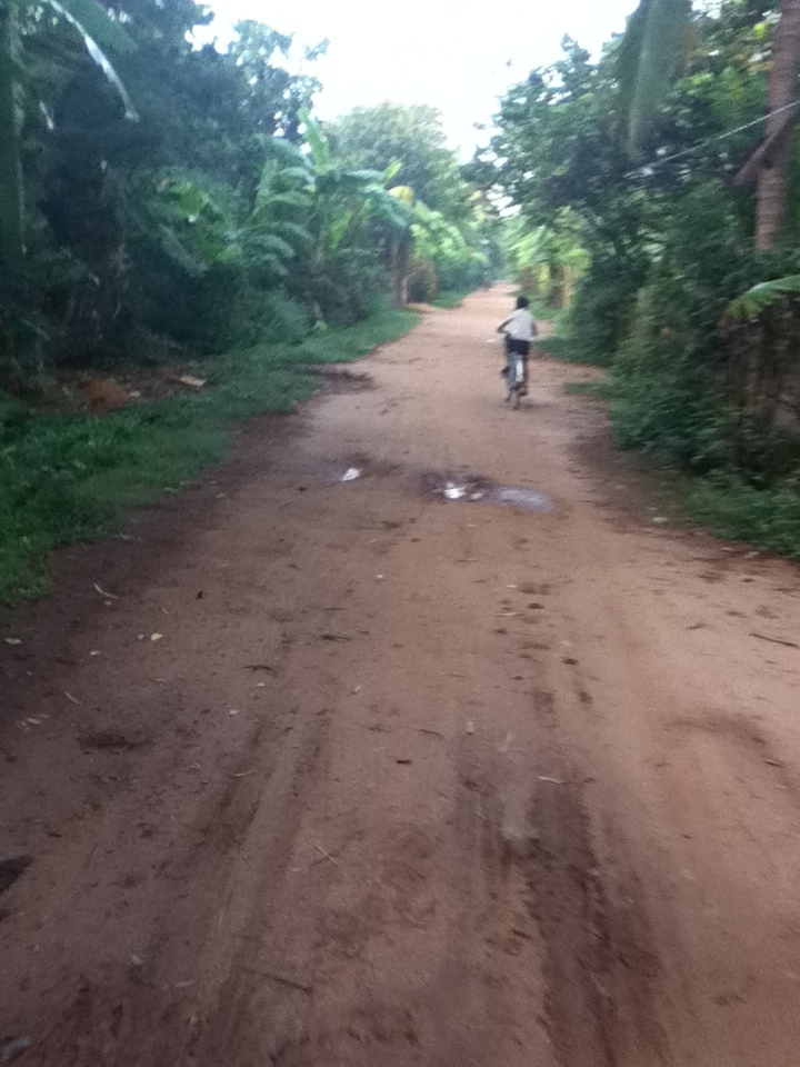 Kompong Cham Koh Paen Bike Path Biking