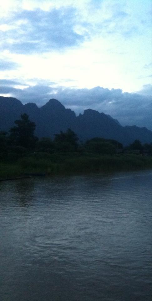Vang Vieng Laos June 2014